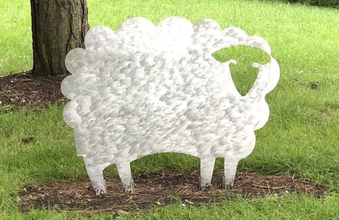 sheep sculpture