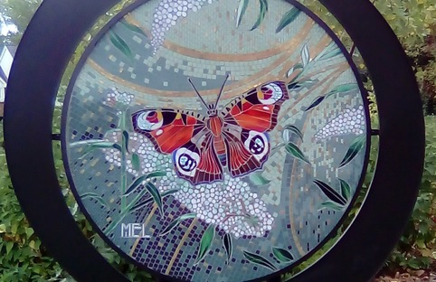 Rocla Art Trail mosaic butterfly